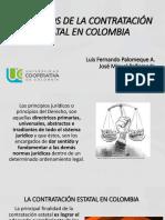 Ley 80 de 1993 Esposicion Palo y Peña