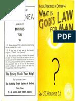 God's Law for Man