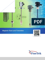 FG Magnetic Float Level Transmitter_NEW