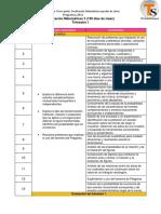 Dosificacion matematicas III, ciclo escolar 2019-2020