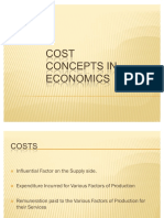 47390989 Cost Concepts in Economics