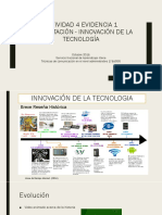 ACTIVIDAD 4 Evidencia 1 Presentación - Innovación
