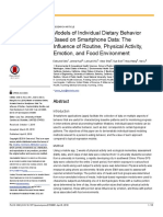 Fix Models of Individual Dietary B