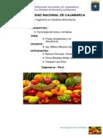 Informe Frutas Climatericas y No Climatericas