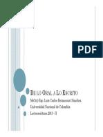 De lo Oral a Lo Escrito.pdf
