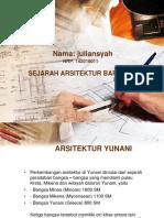 Ppt Arsitektur Yunani