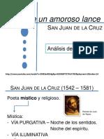 Tras Un Amoroso Lance San Juan de La Cruz