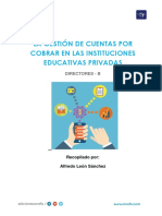 DIRECTORES B - SEPARATA - La Gestión de Cuentas Por Cobrar en IE Privadas
