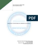 Ministerios y Secretarías Del Gobierno de Guatemala