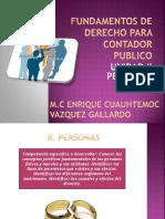 Fundamentos de Derecho Para Contador Publico Unidad 2