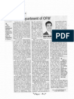 Daily Tribune, Sept. 18, 2019, Department of OFW.pdf