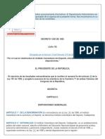 Decreto 1230 de 1995