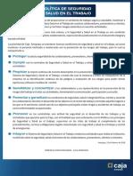 Politica Seguridad Salud 27-08-2018