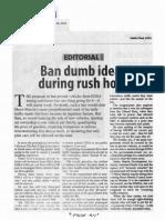 Manila Standard, Sept. 18, 2019, Ban dumb ideas during rush hour.pdf