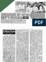 Peoples Tonight, Sept. 18, 2019, Creation of OFWs Dep't pushed.pdf