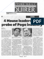 Philippine Daily Inquirer, Sept. 18, 2019, 4 House leaders seek probe of Pogo industry.pdf