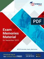 Free PTE-A Exam Memories Material Sept 2019.pdf