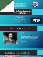 Charla Gestión - Teoria Clasica