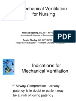 Mechanical Ventilation for Nursing (1)