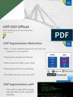UDP Segmentation Offload