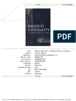 Johnson, Ralph H -- Manifest Rationality_ A Pragmatic Theory of Argument.pdf