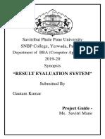 Result Evaluation system