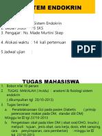 Jadual Pembelajaran SIT ENDOKRIN(UIEU)