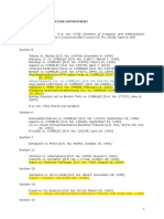Case List - Article 6 Consti 1