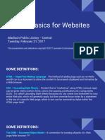 Website Coding Basics
