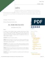 Novo, Salvador - El Tercer Fausto