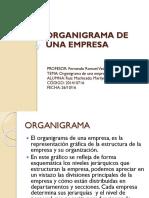 ORGANIGRAMA DE UNA EMPRESA -ing.civil