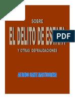 El Delito de Estafa Alfredo Canez Marticorena