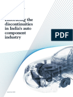 Embracing the Discontinuities in Indias Auto Component Industry