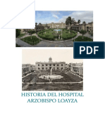 Historia Del Hospital Arzobispo Loayza