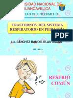 Trastornos Del Sistema Respiratorio Pediatria Clases 2019