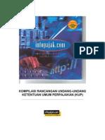 Uu Ketentuan Umum Dan Tata Cara Perpajakan No 28 Tahun 2007 Terbaru