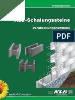 KLB-Schalungssteine