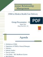 CRM- Case Study Health Care