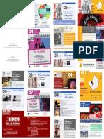 Aula de Cultura de Murcia. Programación Septiembre y Octubre 2019. Fundación Caja Mediterráneo