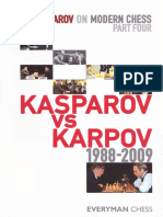 Garry Kasparov on Modern Chess Part Four Kasparov vs Karpov 1988-2009 ( PDFDrive.com )
