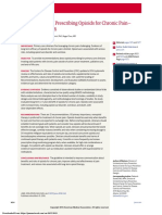 CDC Guideline for Prescribing Opioids for Chronic Pain— United States, 2016