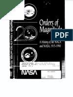 Orders of Magnitude NASA & NACA History 1915 90=180p