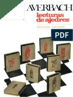 Lecturas de Ajedrez - Yuri Averbach - OCR e Índice.pdf