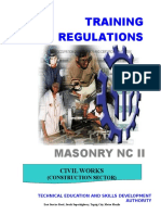 Tr Masonry Nc II