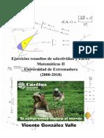 MATES II EBAU EXTREMADURA RESUELTOS 2000-2018
