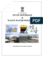 Rajasthan State Sewerage and Waste Water Policy 2016