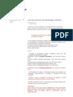 Professor Vitor_ Lista de Exercícios de Metodologia Científica
