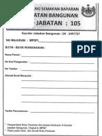 1. Borang Semakan Bayaran (Print in A6 Front and Back)