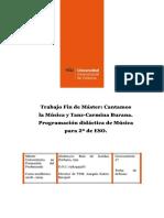 TFM Programación Música ESO