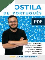 Prova portugues para embraer